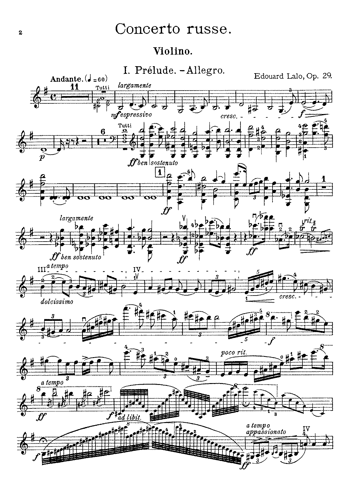 Lalo - Concerto russe (violin and piano).pdf