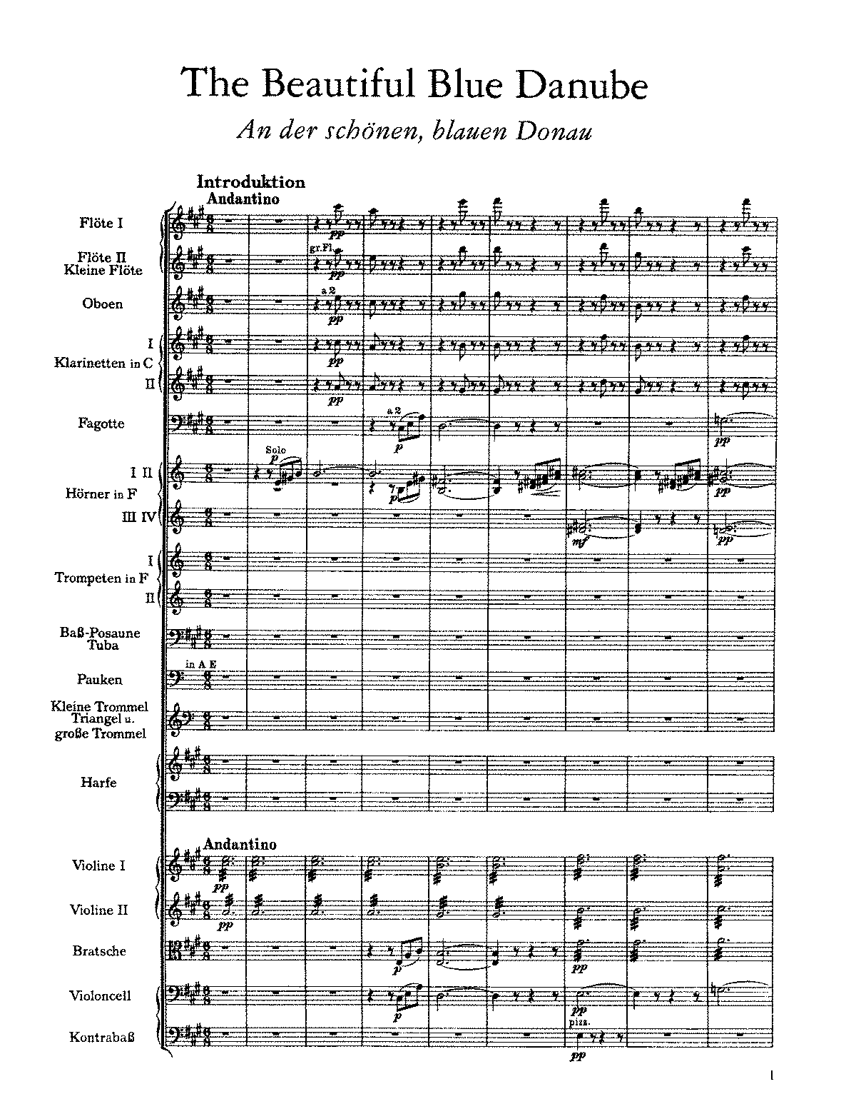 Strauss - The Beautiful Blue Danube.pdf