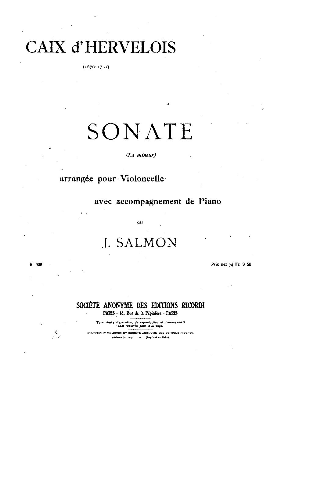 PMLP143136-Caix d'Hervelois - Sonata in A minor (Salmon) for cello and piano pno.pdf