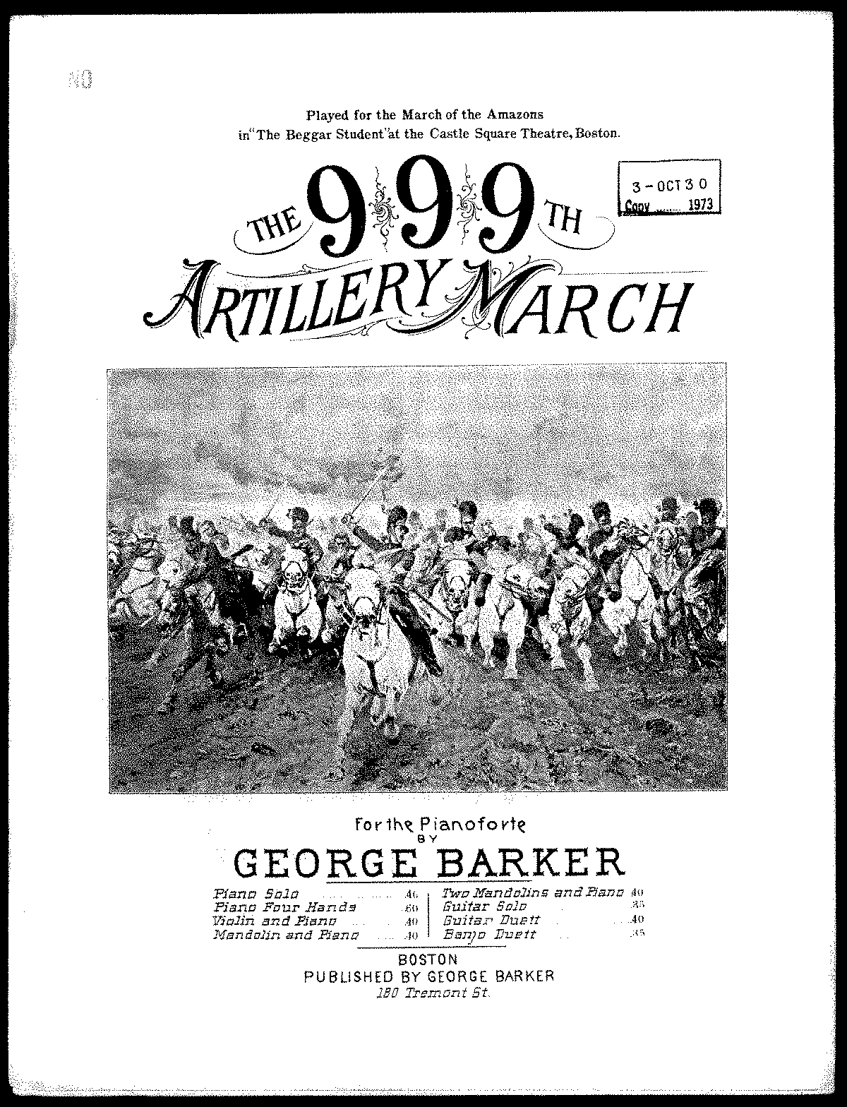 PMLP517074-Barker The 999th Artillery March.pdf