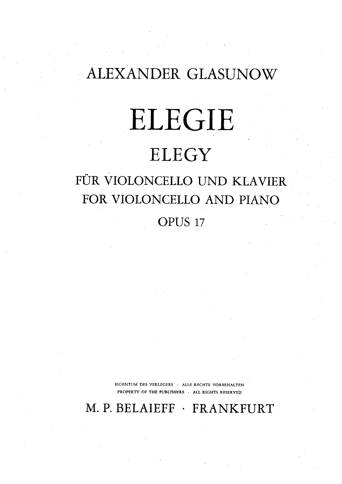 PMLP199714-Glasunow op.017 Elegie for Cello und Klavier.pdf