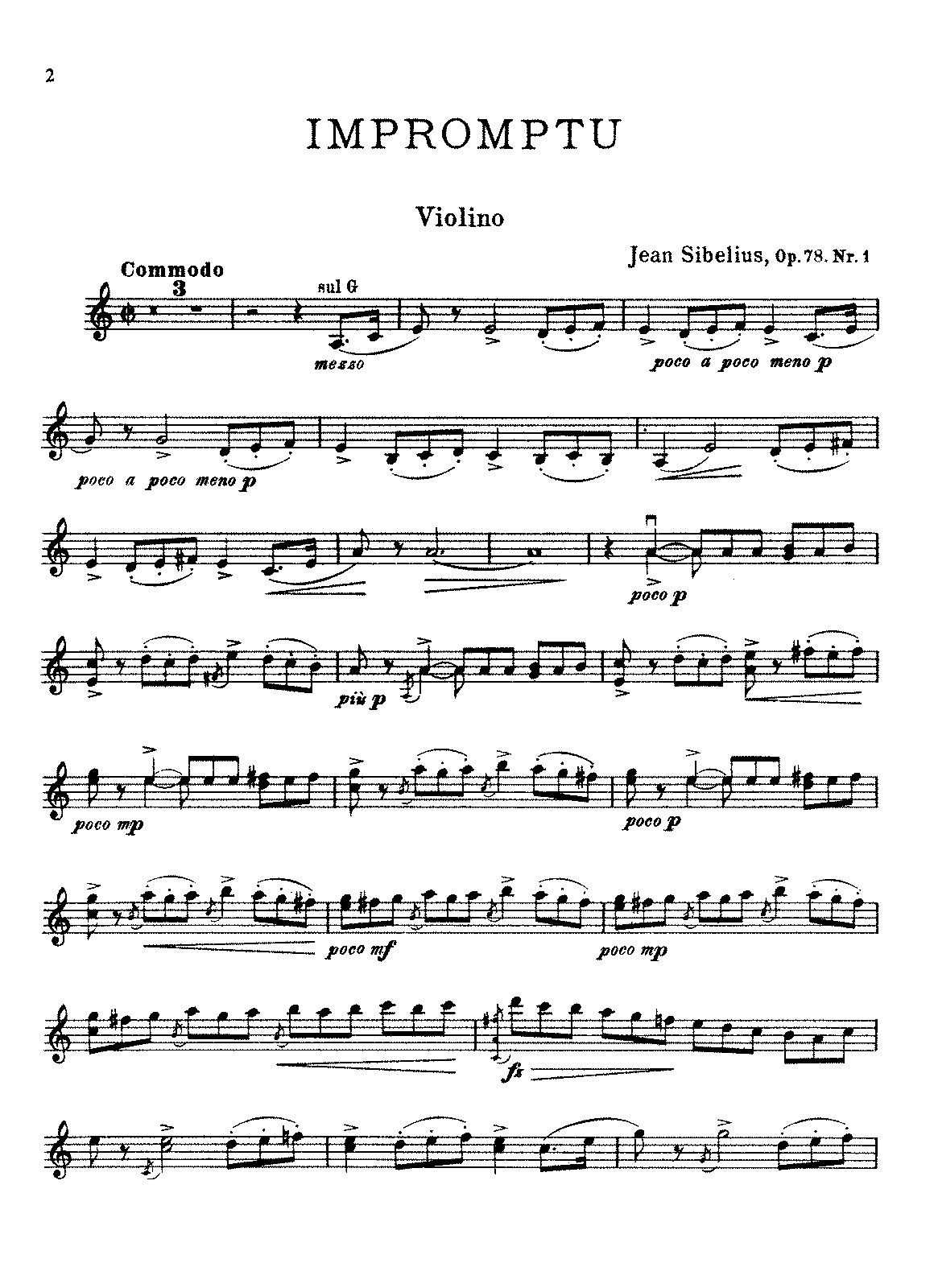 Sibelius - 4 Pieces for Violin or Cello and Piano, Op.78 Nos.1-3.pdf
