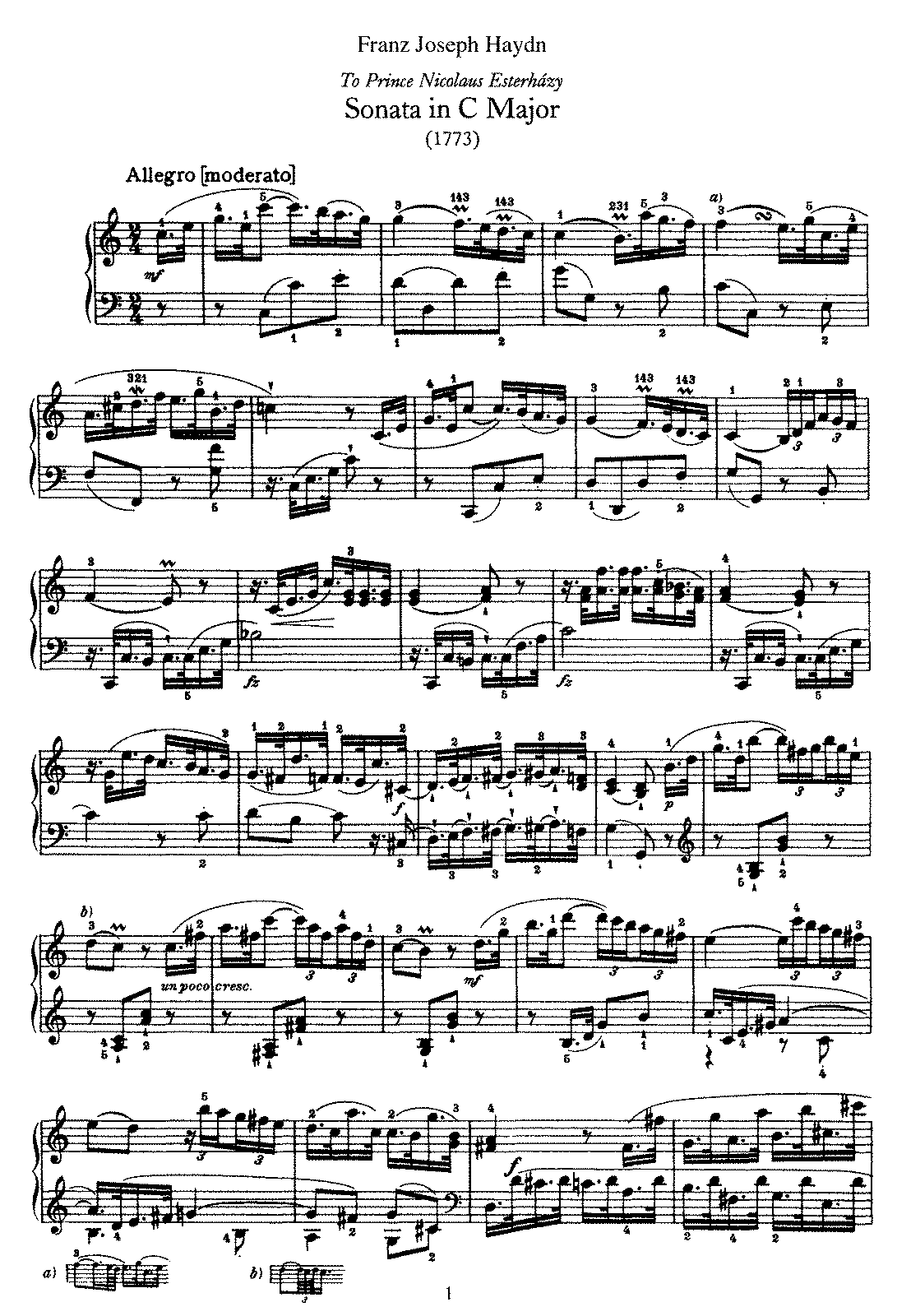 Haydn - Piano Sonata No 21 in C.pdf