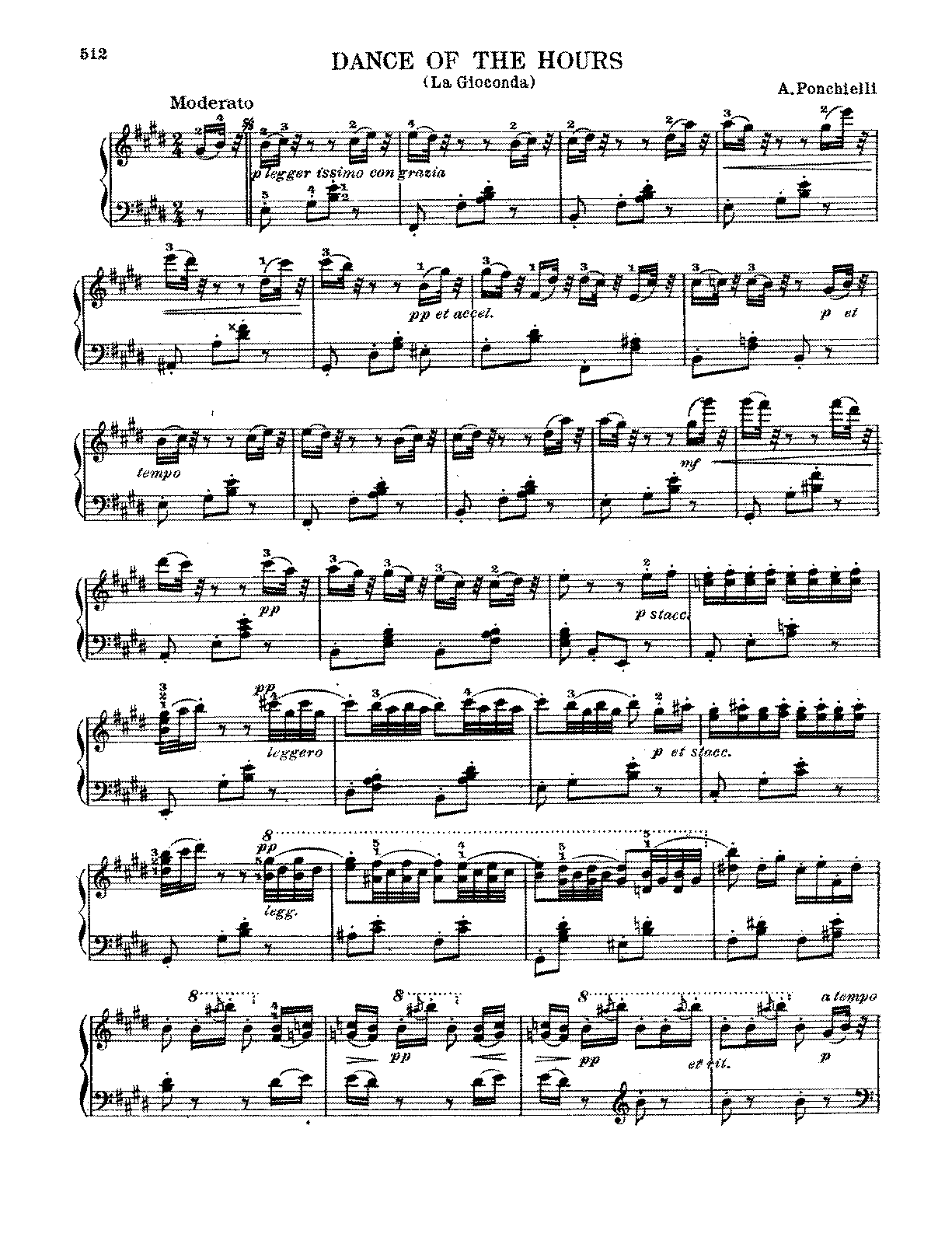 Ponchielli - Dance of the Hours.pdf