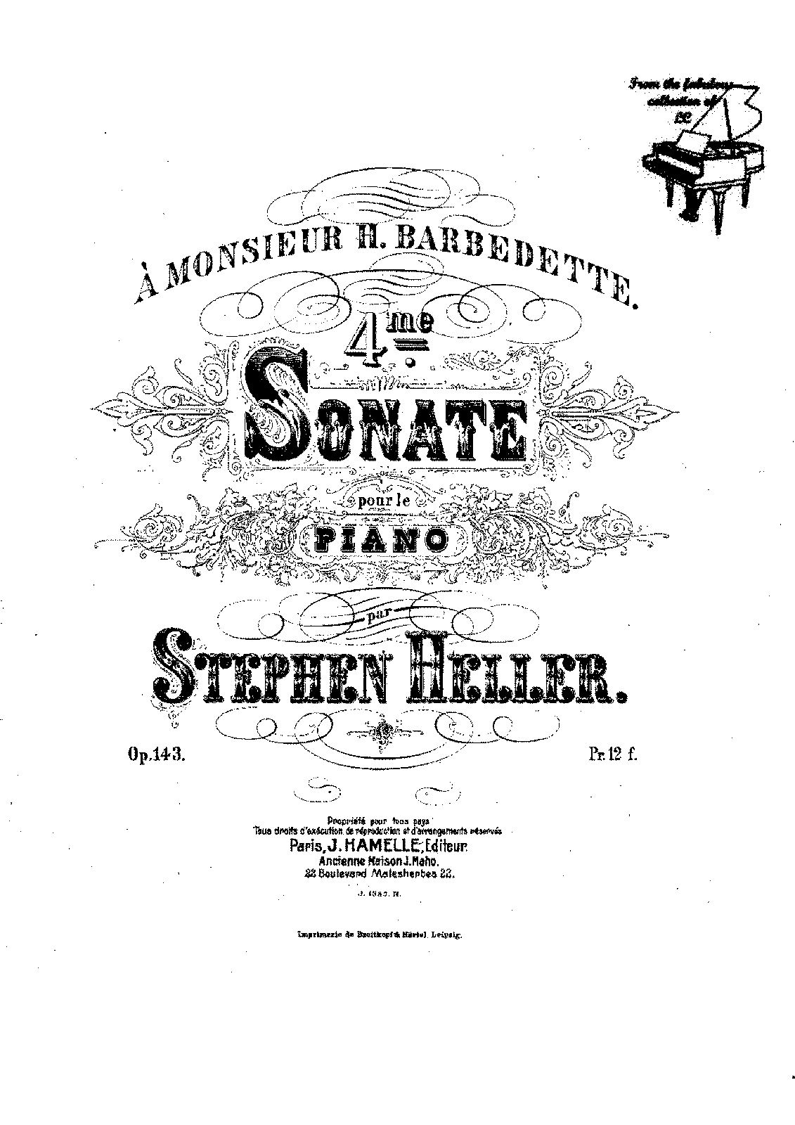 Heller - Op.143 - Piano Sonata No.4 in Bb mionr.pdf