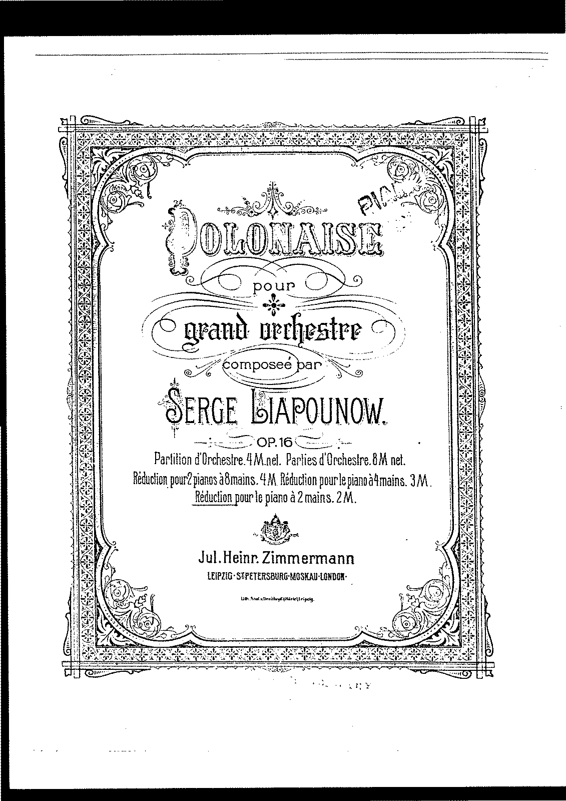 Lyapunov - Polonaise for Grande Orchestra (arr. for piano), Op.16.pdf