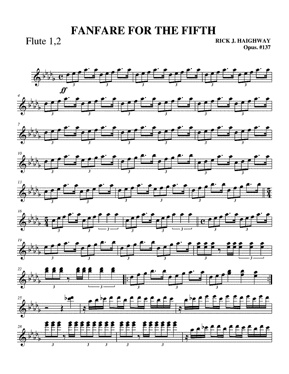 PMLP530589-Finale PrintMusic 2008 - -fANFARE FOR 5TH - 001 Flute.pdf