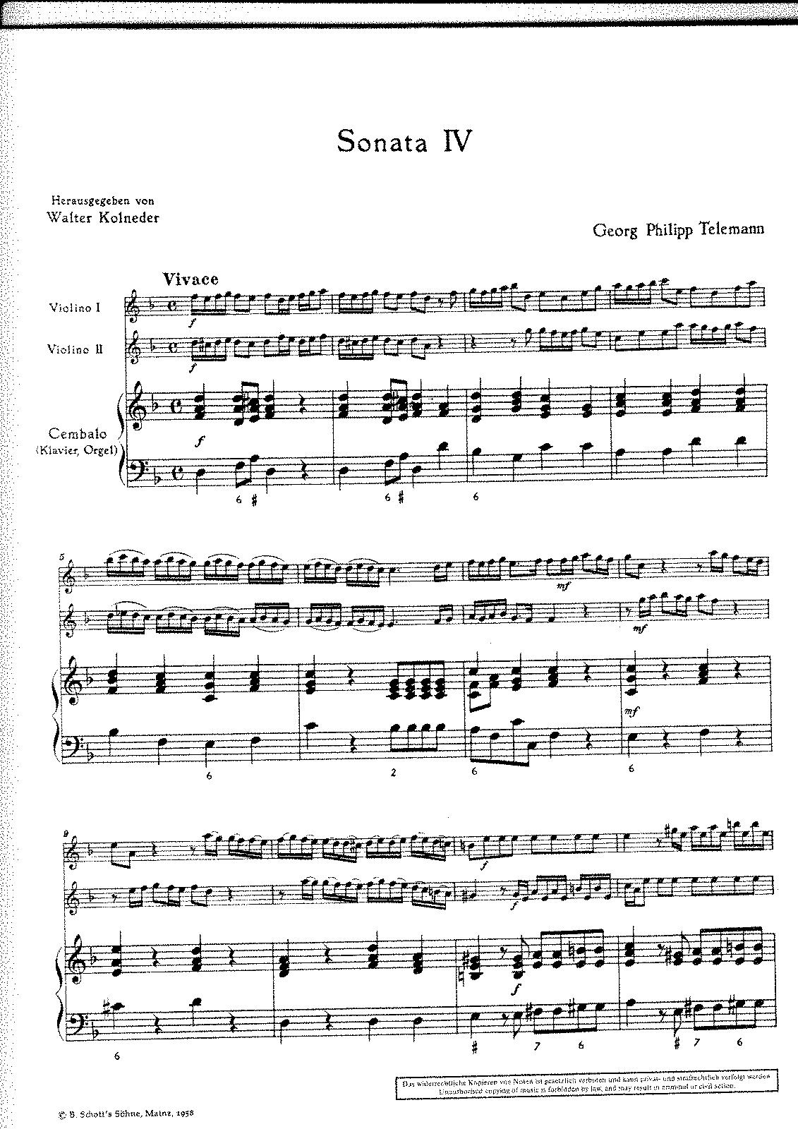 Trio sonata twv 42d2 telemann georg philipp imslppetrucci sheet music hexwebz Choice Image