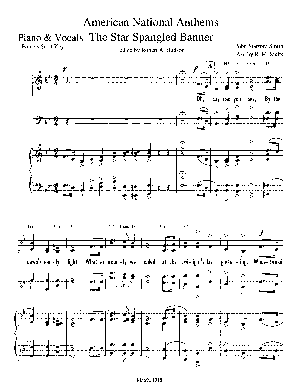 PMLP208661-The Star Spangled Banner Stults - 001G Piano & Vocals.pdf