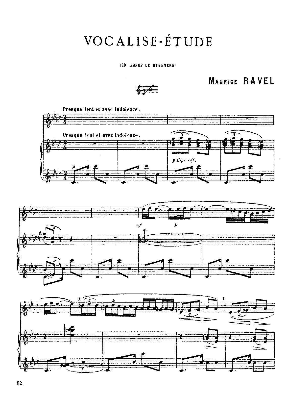 Ravel - Vocalise-Étude en forme de Habanera (voice and piano).pdf