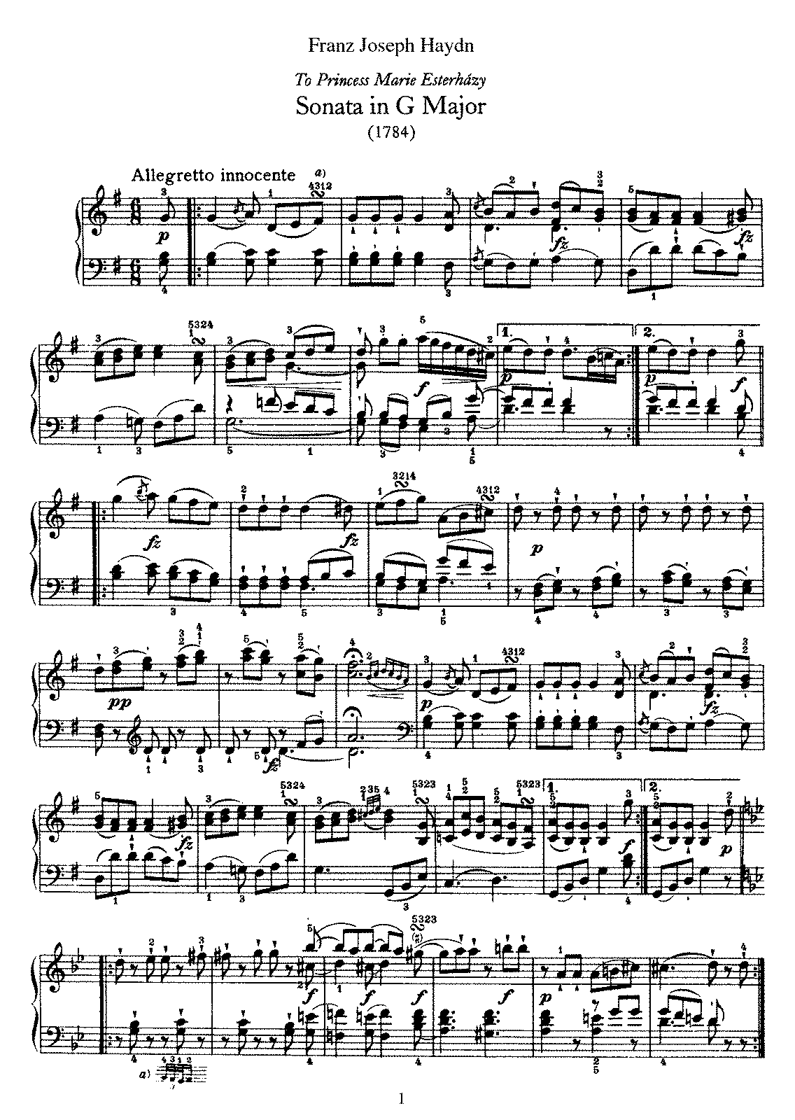 Haydn - Piano Sonata No 40 in G.pdf