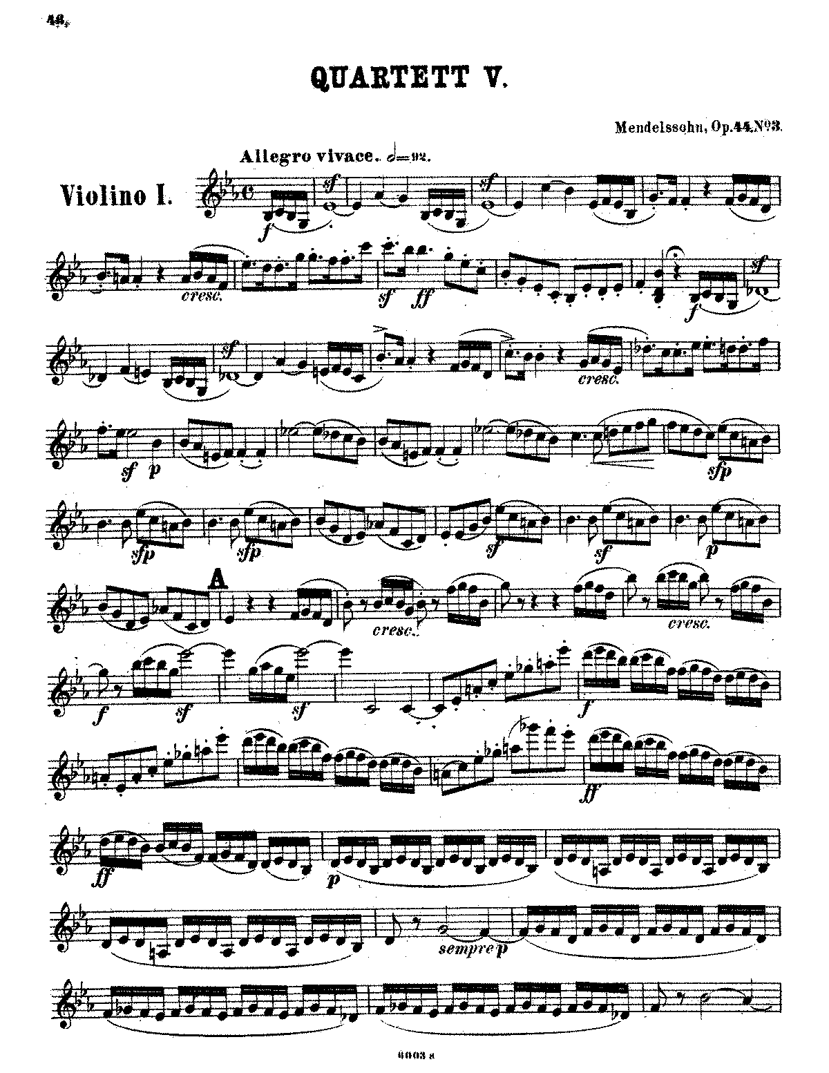 PMLP27020-Mendelssohn - String Quartet No. 5 (Violin 1 part).pdf