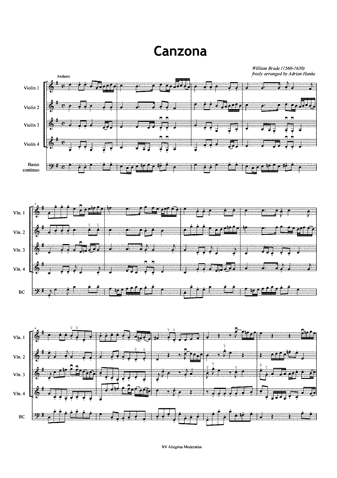 PMLP431841-Brade William - Canzona -16 - Score.pdf