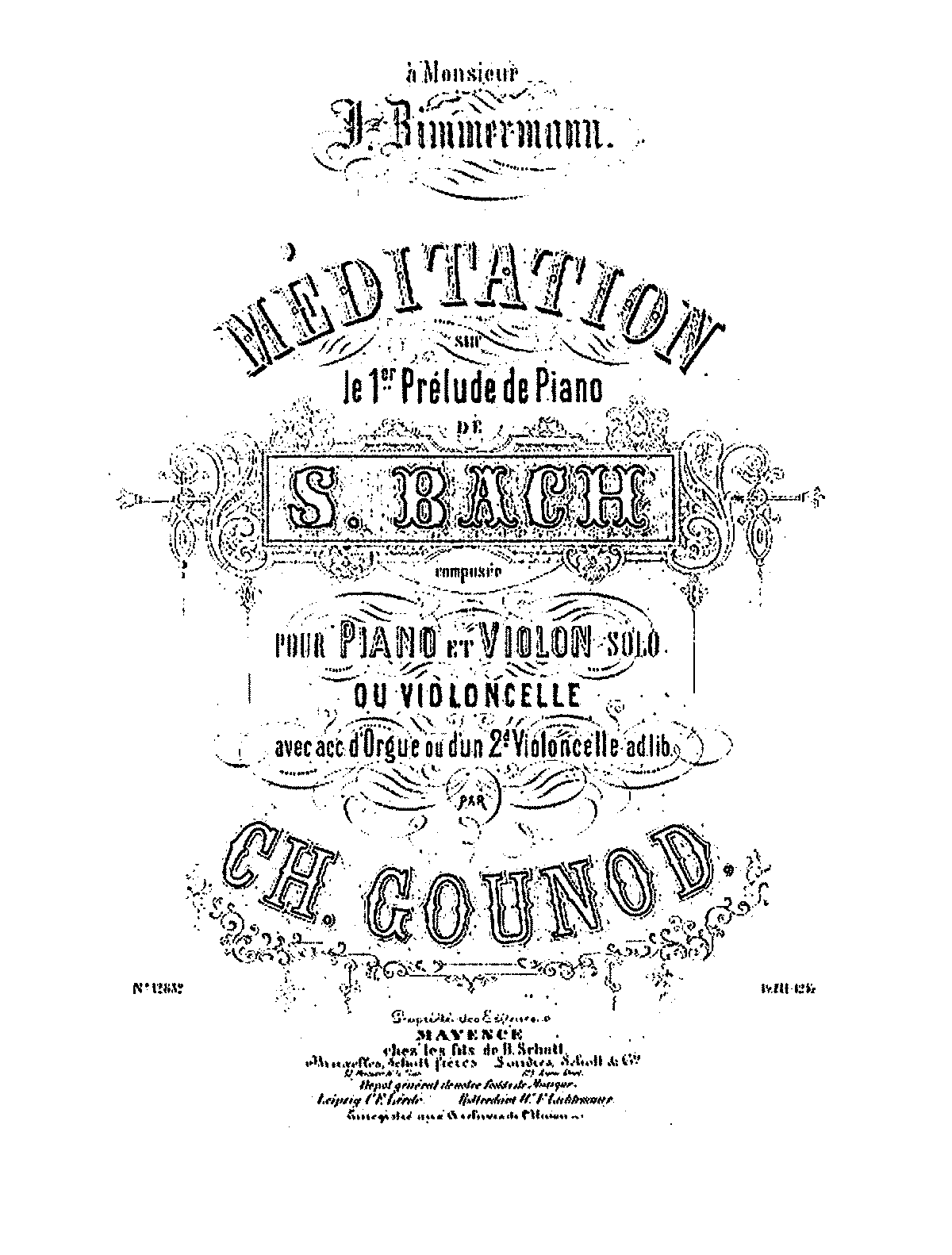 PMLP13993-Bach-Gounod - Meditation on the first Prelude for piano for Cello (or violin) piano organ and 2nd cello.pdf