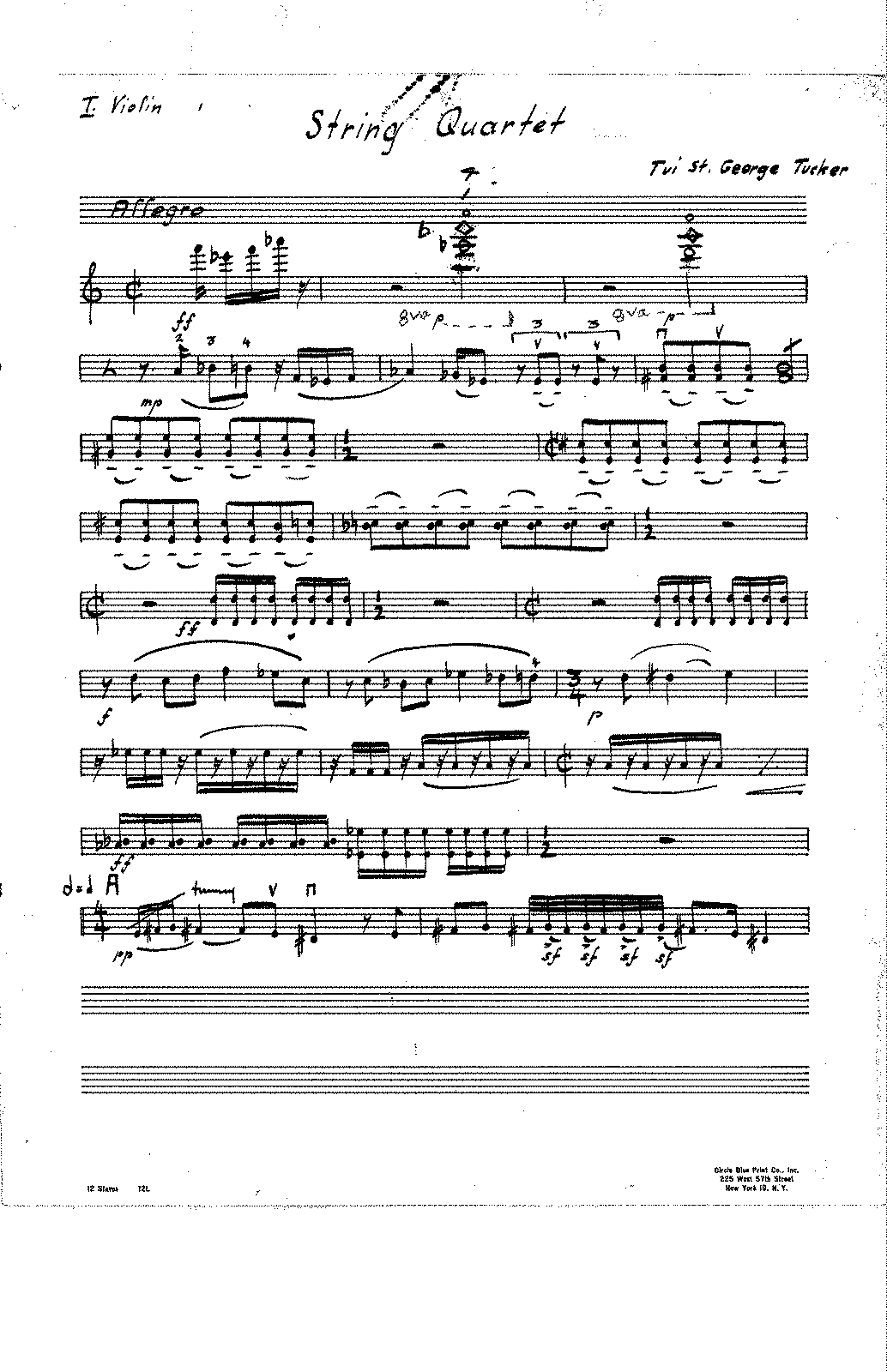 String Quartet I Violin.pdf