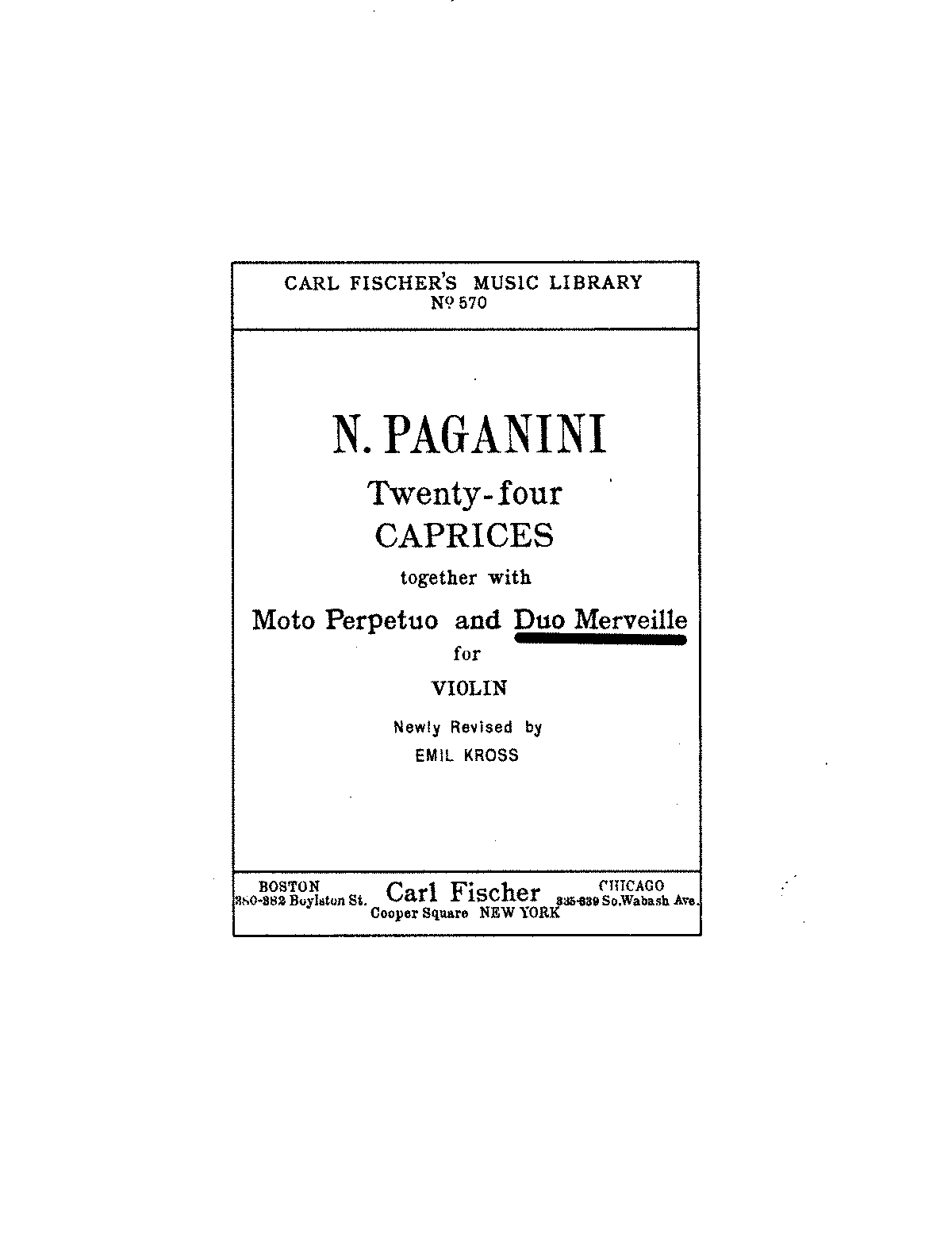 PMLP41815-Paganini - Duet For One Violin Duo Merveille (Kross).pdf