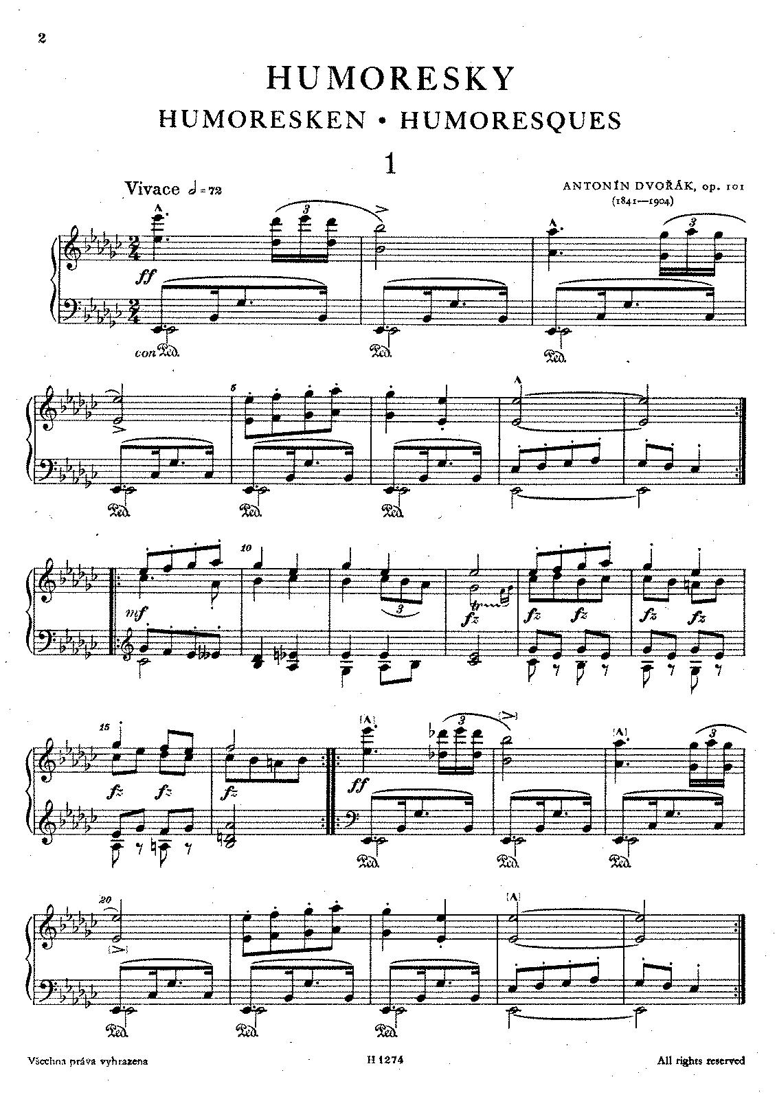 Dvorak Humoresque Violin Suzuki