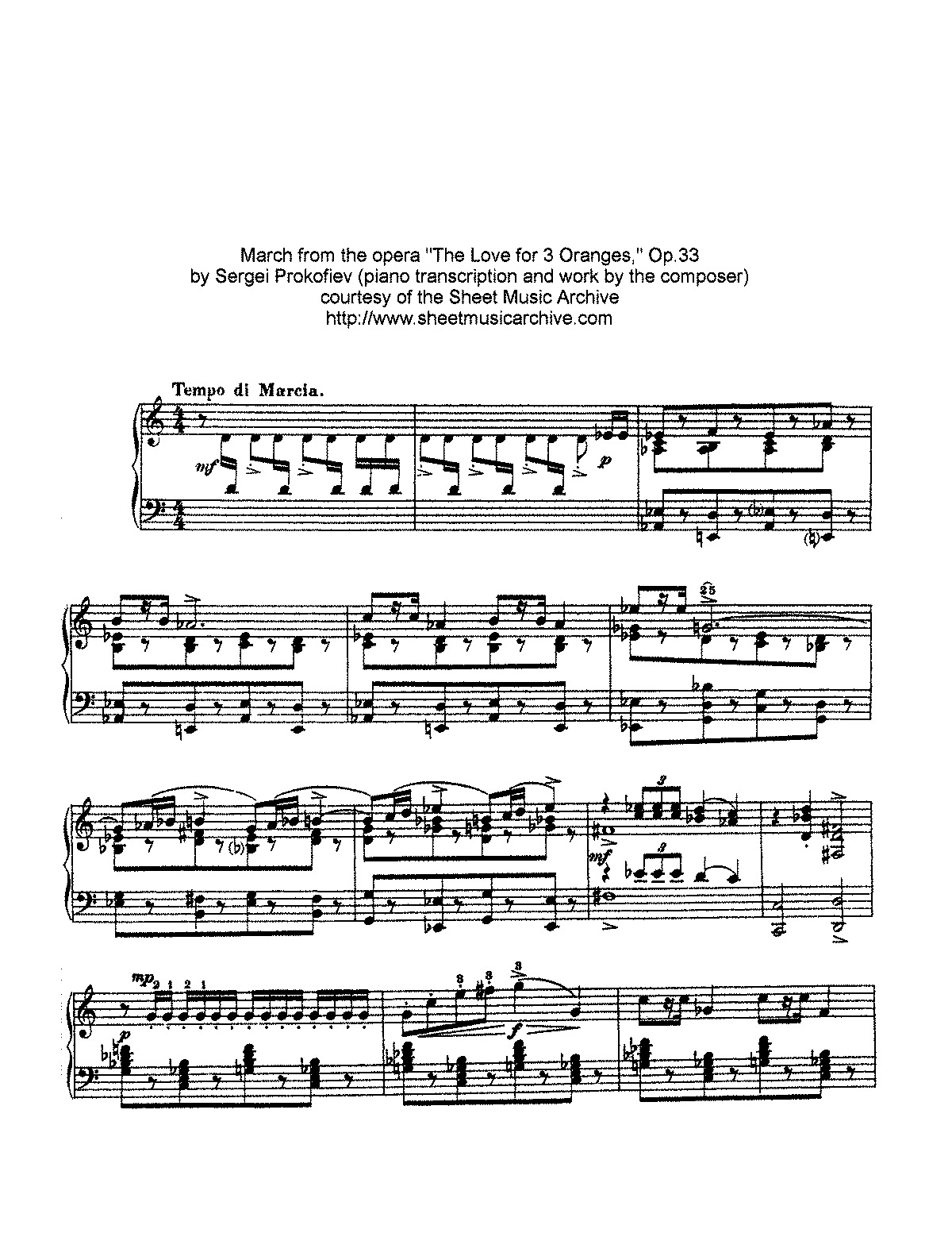 Prokofiev - Op.33 - The Love of 3 Oranges - March.pdf