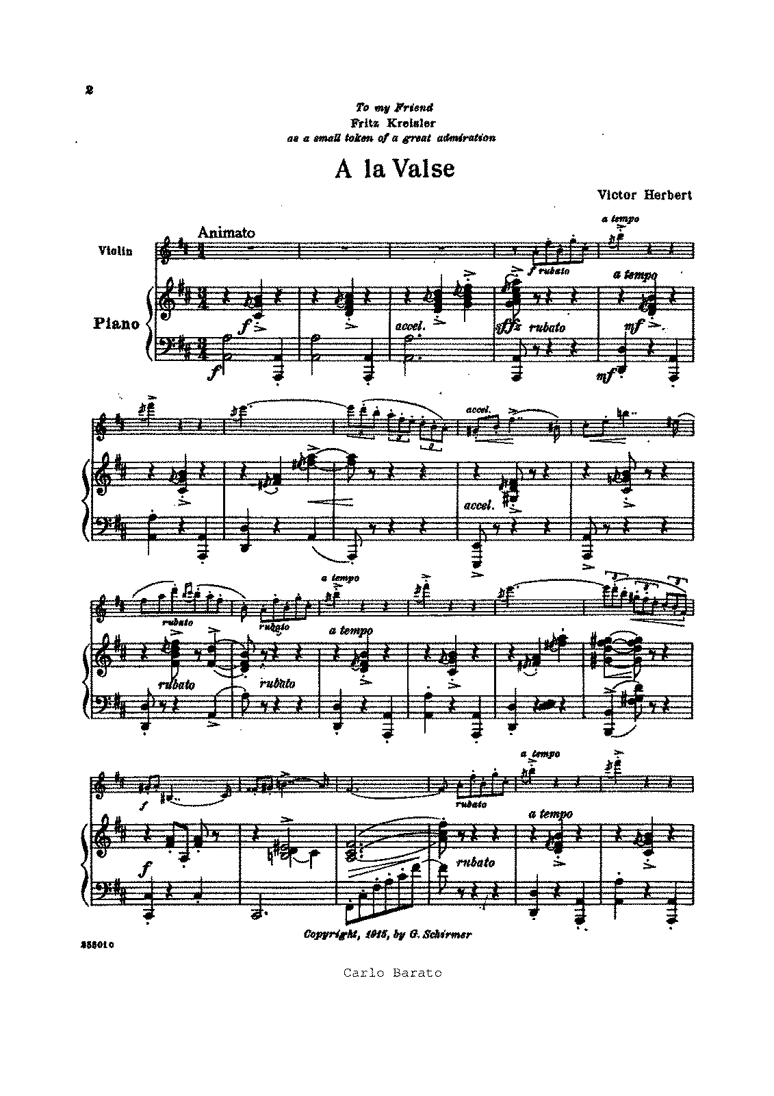 Herbert La Valse for Violin and Piano Complete Parts.pdf