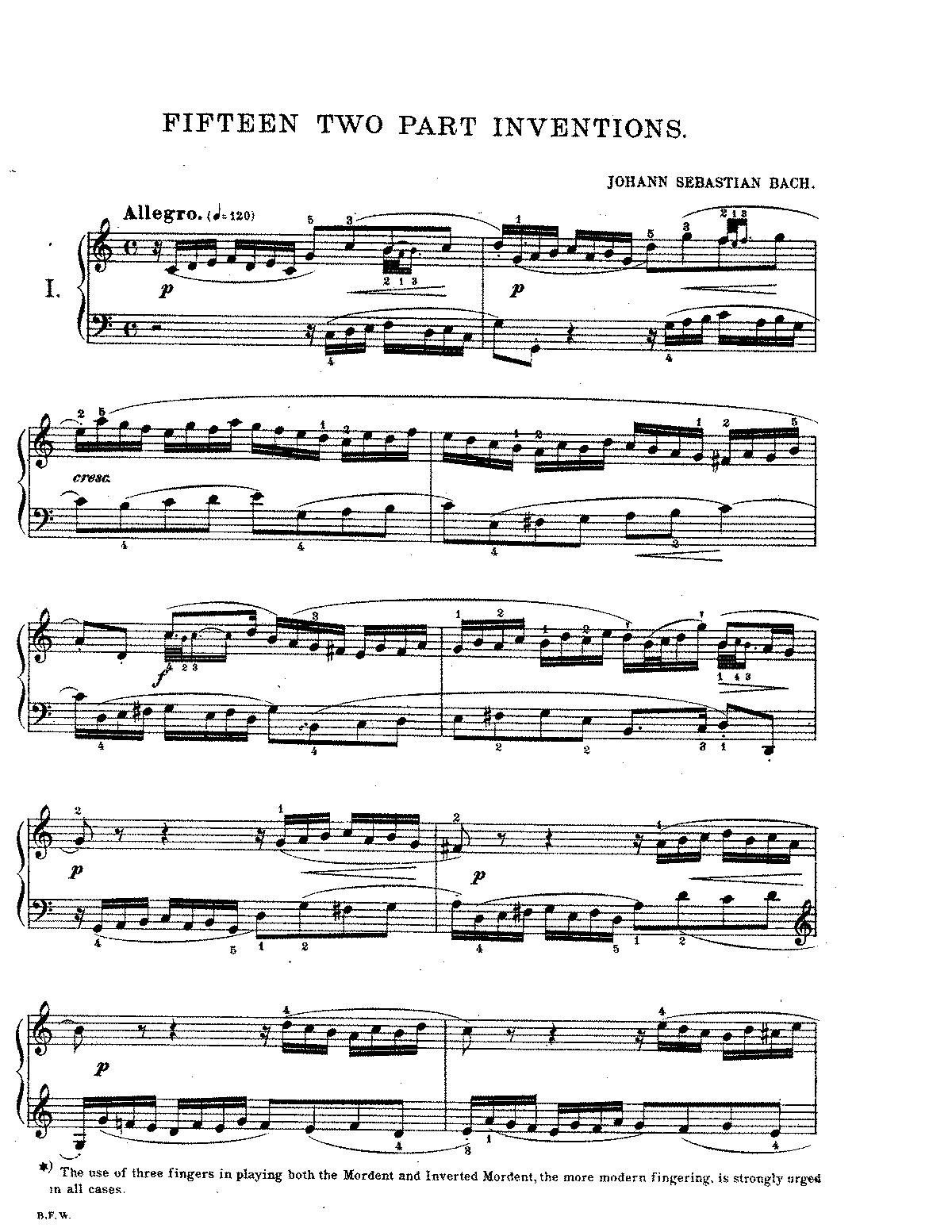 analyse muziek bach
