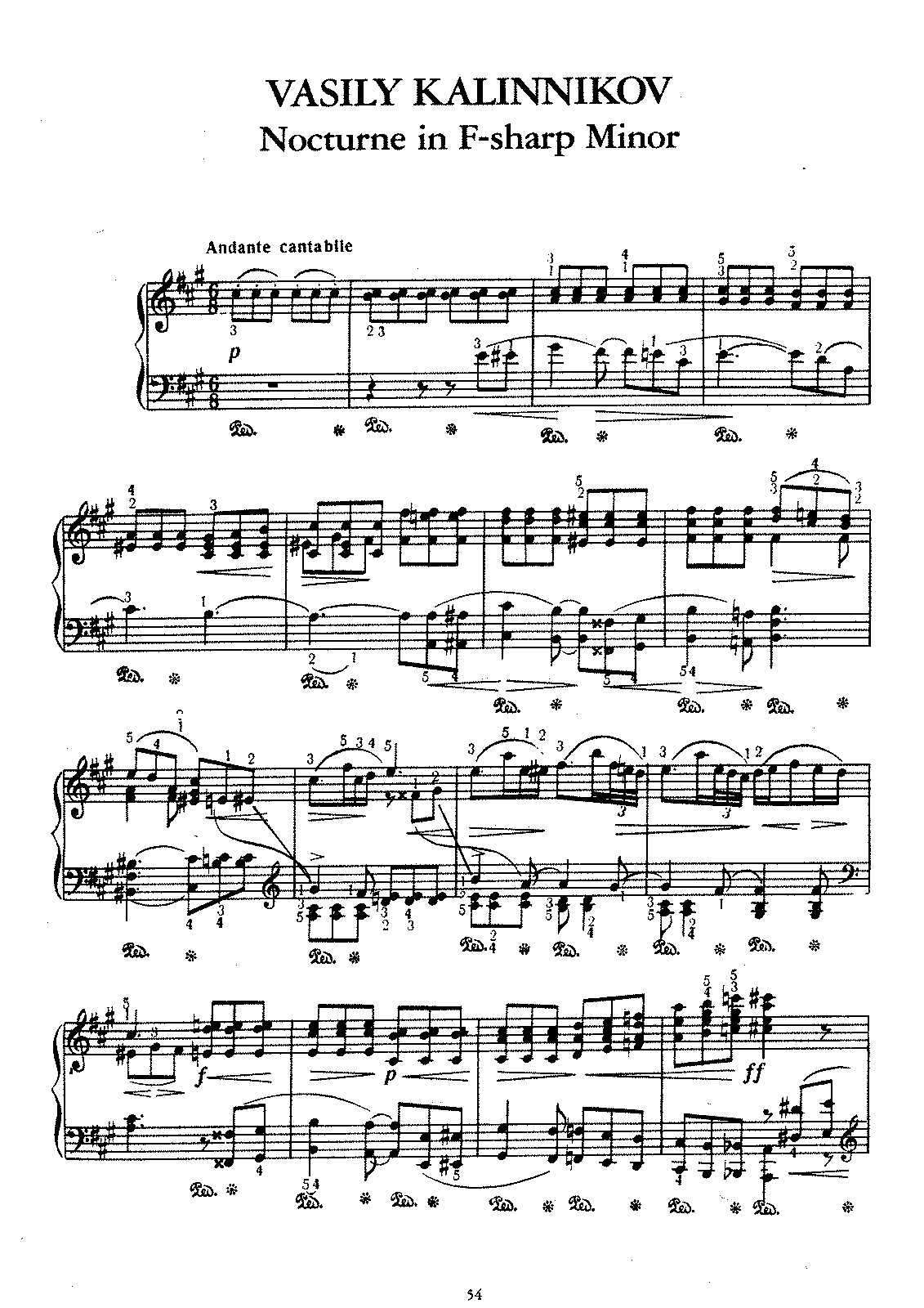 Kalinnokov - Nocturne in F-Sharp minor.pdf