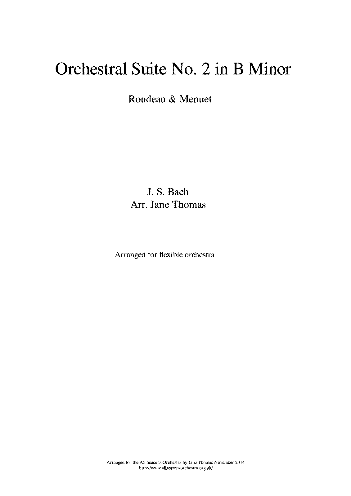 PMLP99998-Bach - Orchestra suite in B Minor - Rondeau and Minuet - Score.pdf