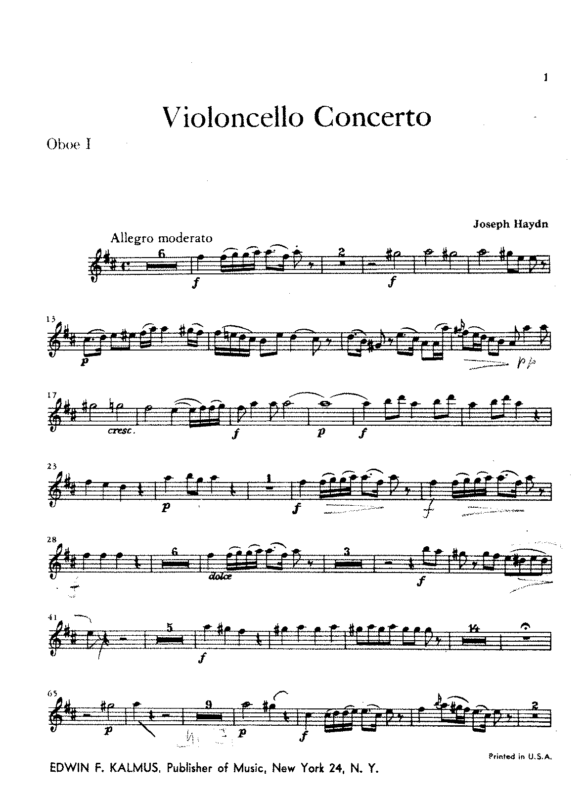 PMLP18850-Haydn - Cello Concerto in D oboe1.pdf