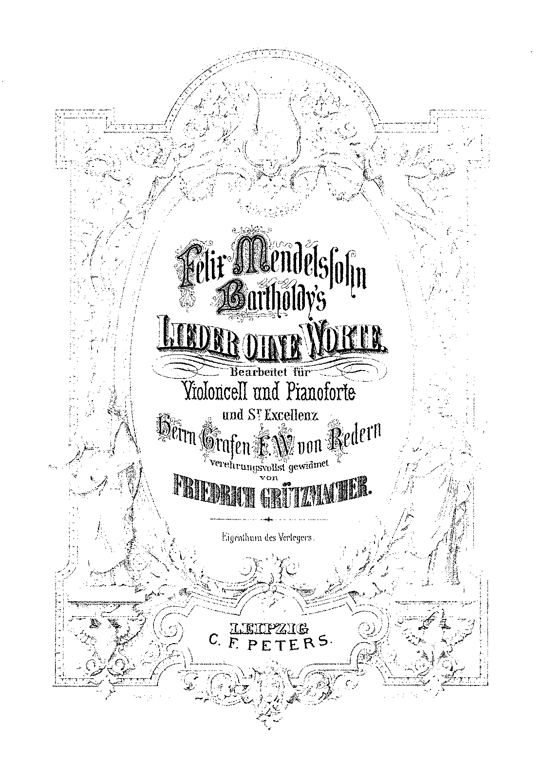 PMLP02674-Mendelssohn - Lieder Ohne Worte (Grutzmacher) for Cello and Piano Bk4 Op53 PNO.pdf