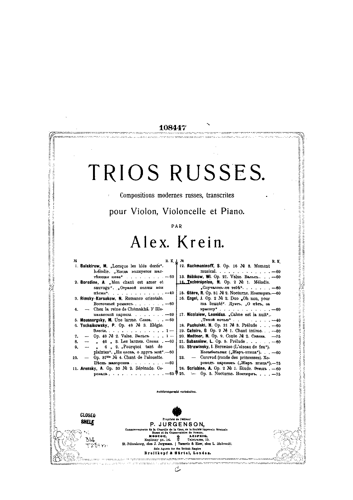 PMLP419468-Tcherepnine - Melodie Op2 No1 (Krein) for violin cello and piano score.pdf