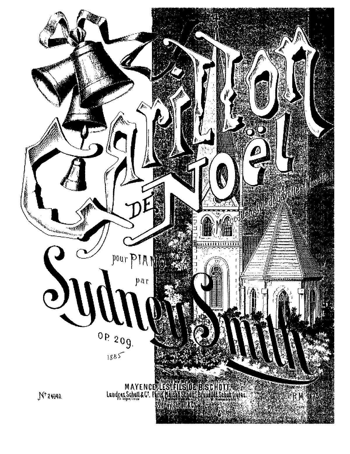Smith, Sydney op209 carillon de noel.pdf