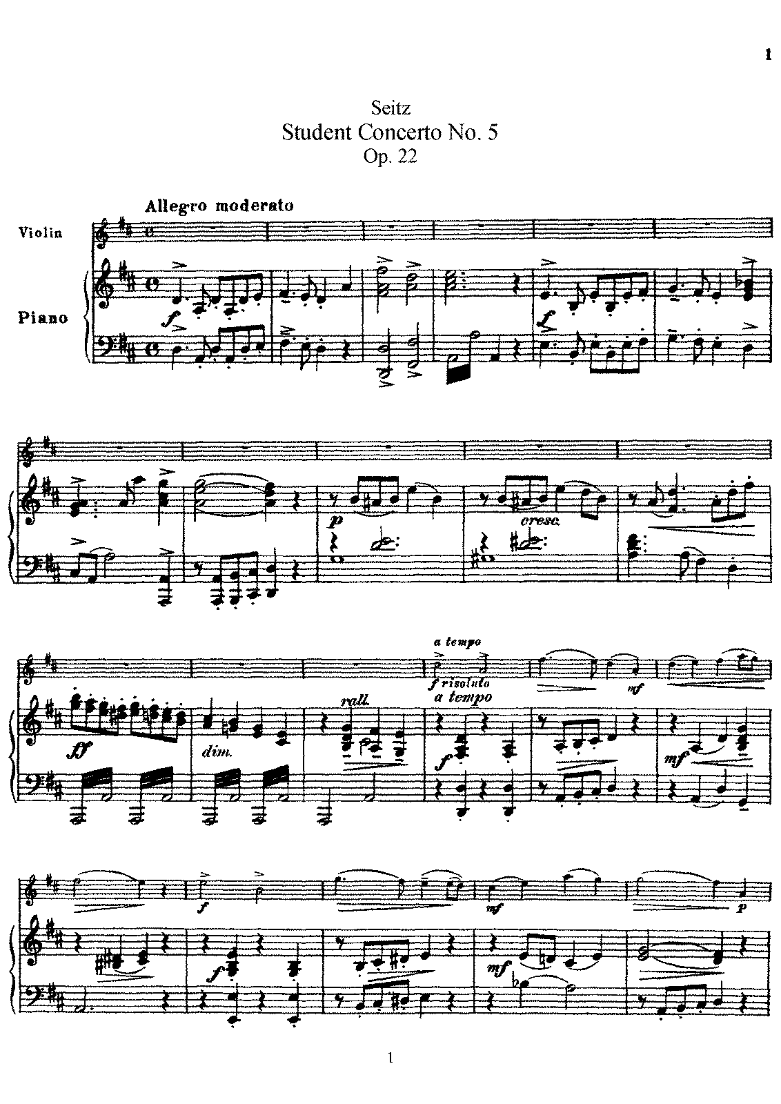 PMLP155530-FSeitz Student Concerto No.5 for Violin and Piano Op.22 Piano Score.pdf