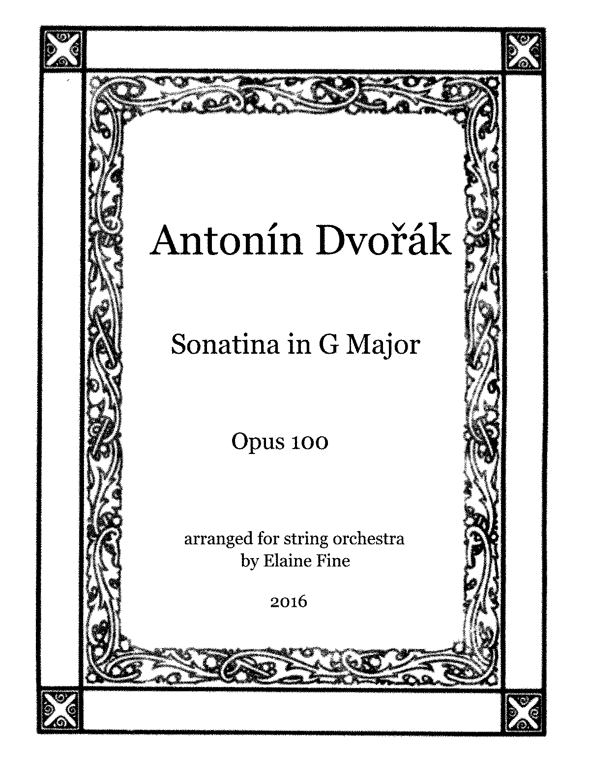 PMLP22843-Dvorak Sonatina Opus 100 for Strings Complete Score and Parts.pdf