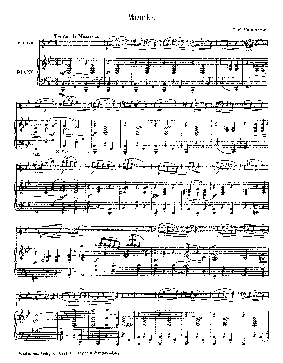 PMLP636605-CKammerer Mazurka for Violin and Piano NMZ 1897 6.pdf