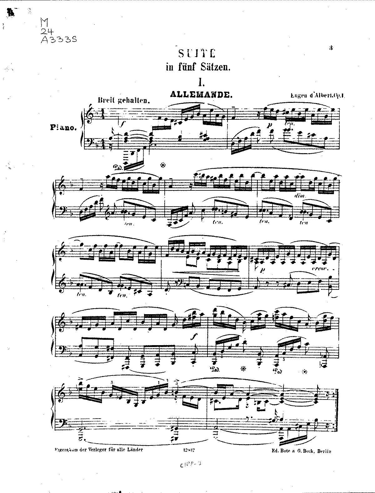 D'Albert - Suite in Five Movements, Op.1.pdf
