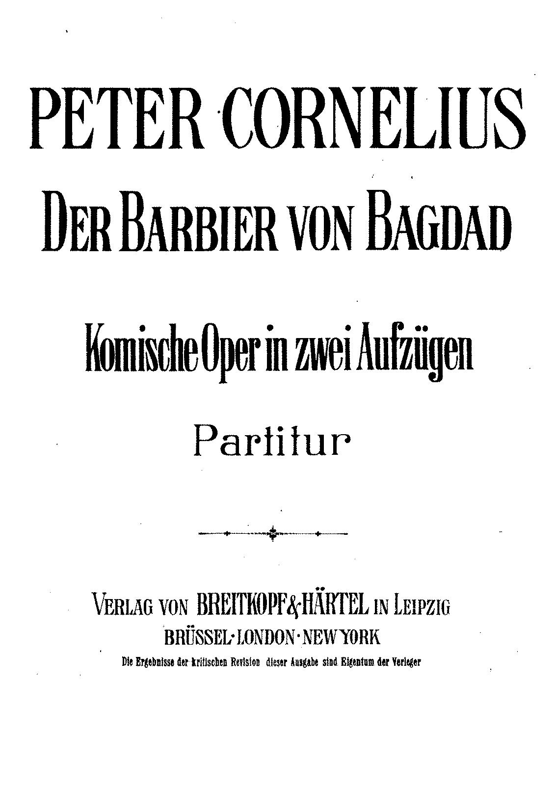 der barbier von bagdad
