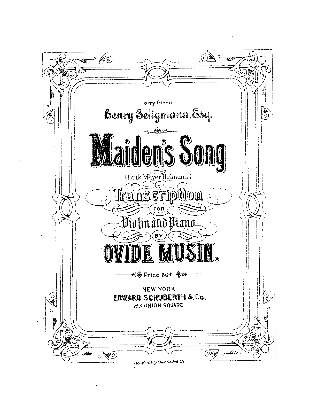 Meyer-helmund - maiden's song - transcr musin.pdf