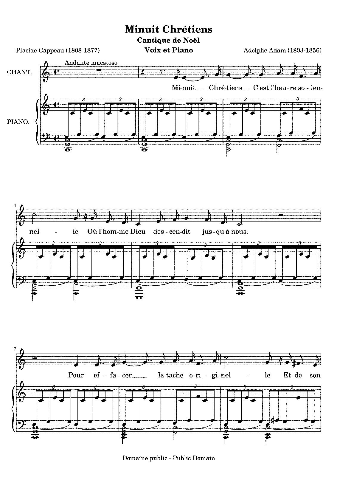 Cantique de nol adam adolphe imslppetrucci music library sheet music hexwebz Gallery