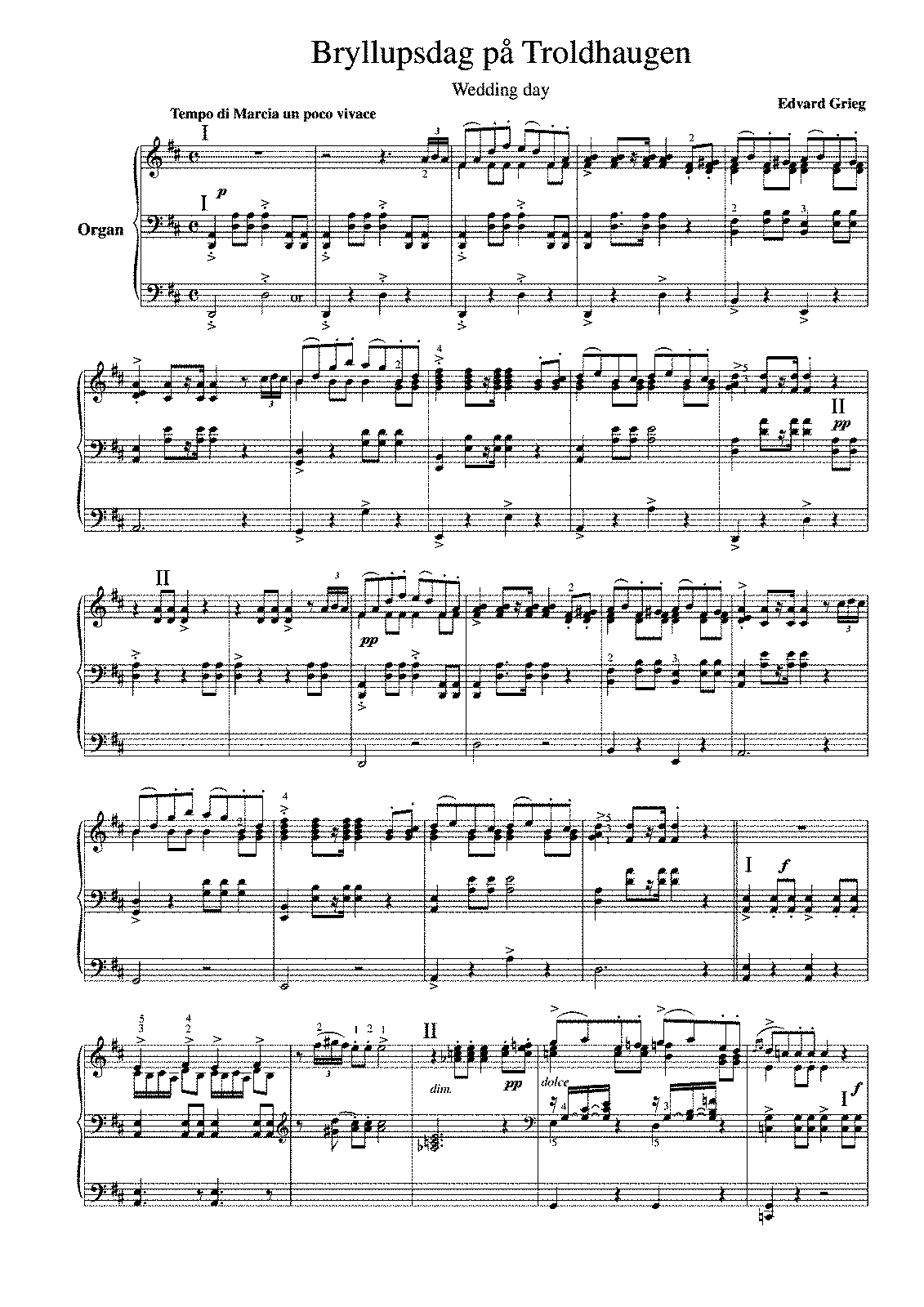 Transcription Wedding day Grieg.pdf