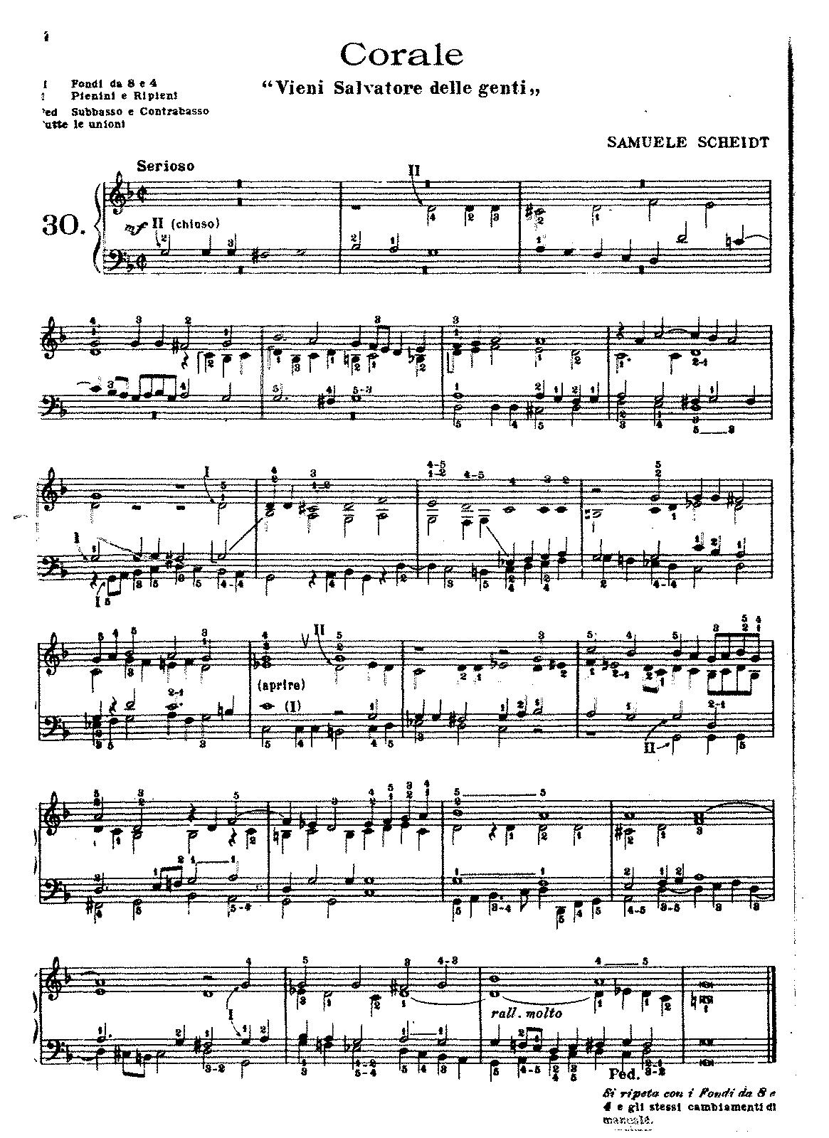 Veni redemptor gentium sswv 149 scheidt samuel imslp sheet music hexwebz Gallery