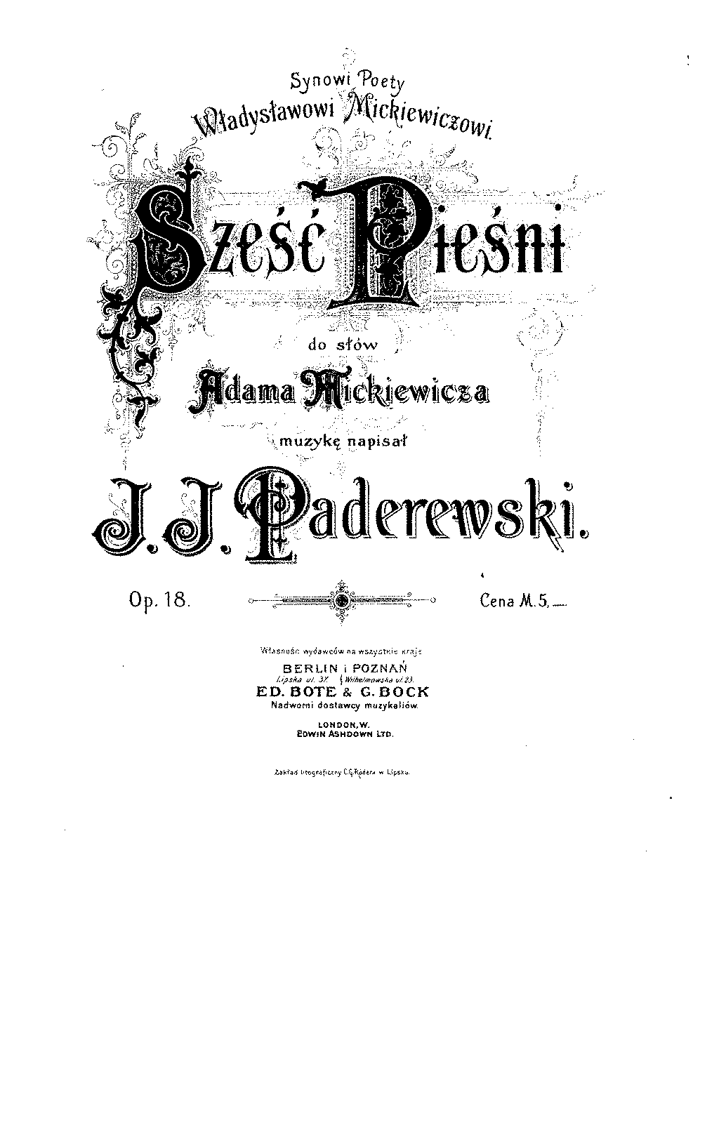Paderewski - Six Songs, Op.18.pdf