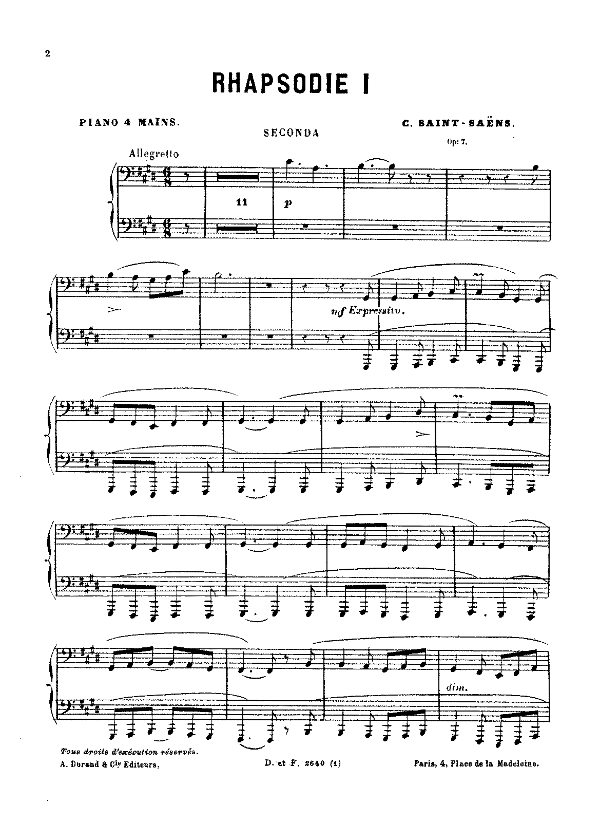PMLP09633-Saint-Saëns - 3 Rhapsodies, Op. 7 (piano 4 hands).pdf