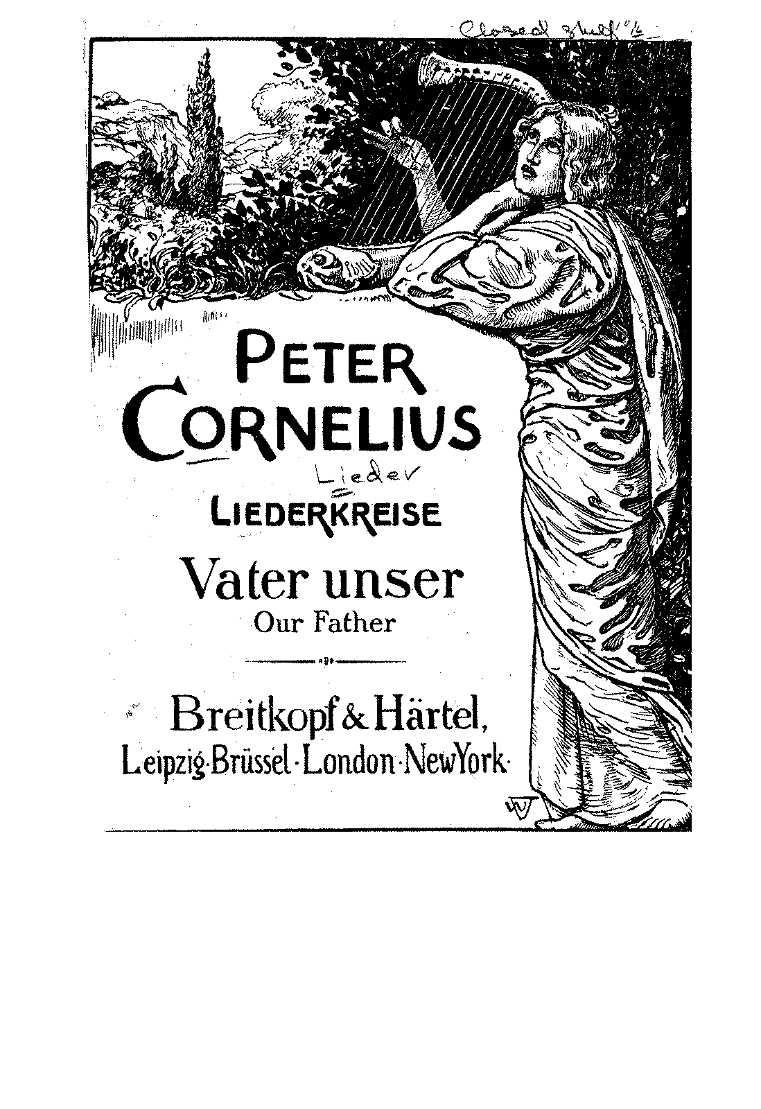 peter cornelius lieder