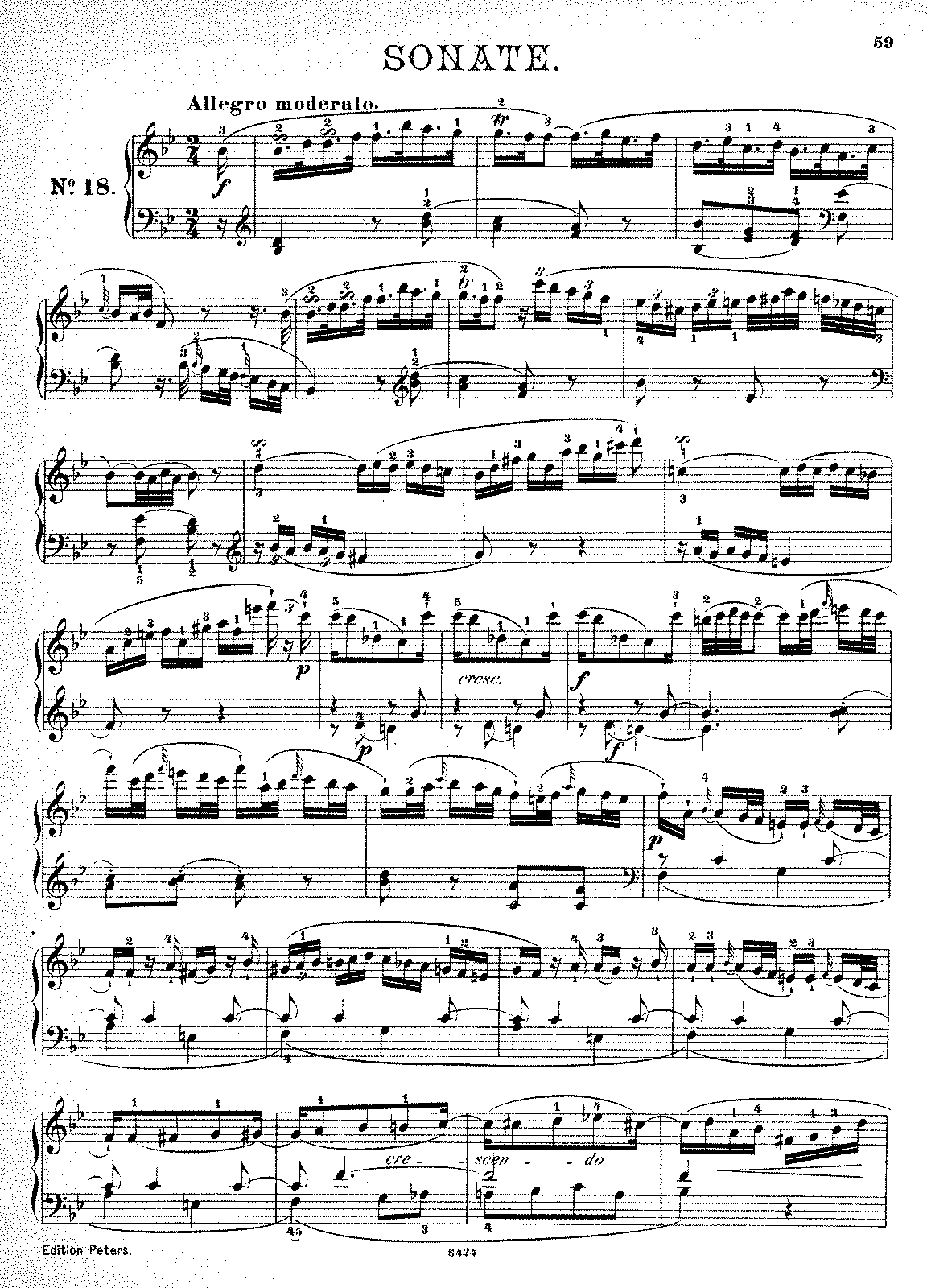 haydn piano sonata in b flat major analysis