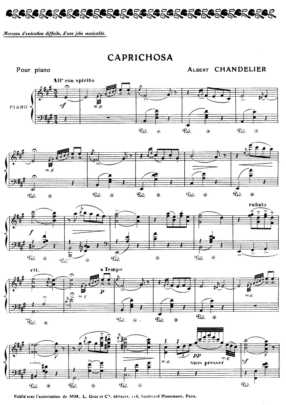 2 Pièces, Opp.23-24 (Chandelier, Albert) - IMSLP/Petrucci Music ...