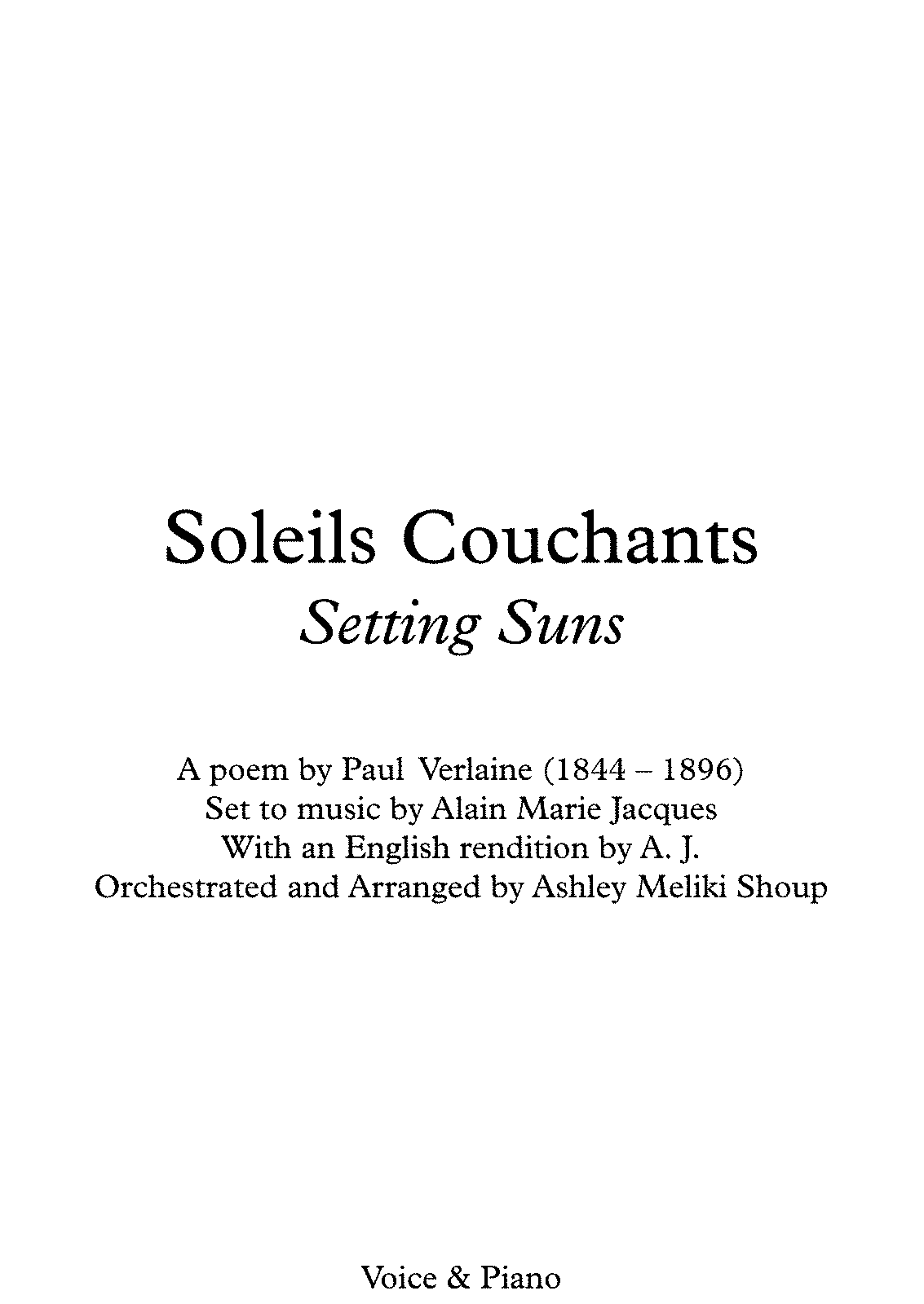 PMLP492773-Soleils Couchants (A. Jacques - Verlaine) - Voice, harmonica & piano - Full Score.pdf
