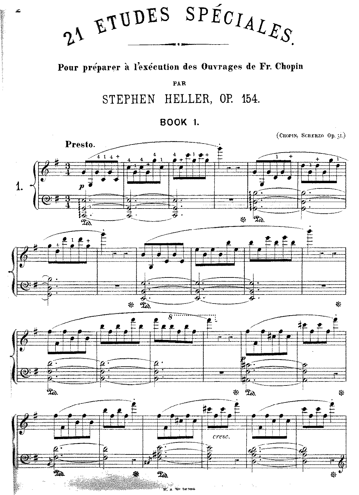 Heller - Op.154 - 21 Etudes Speciales after Chopin.pdf