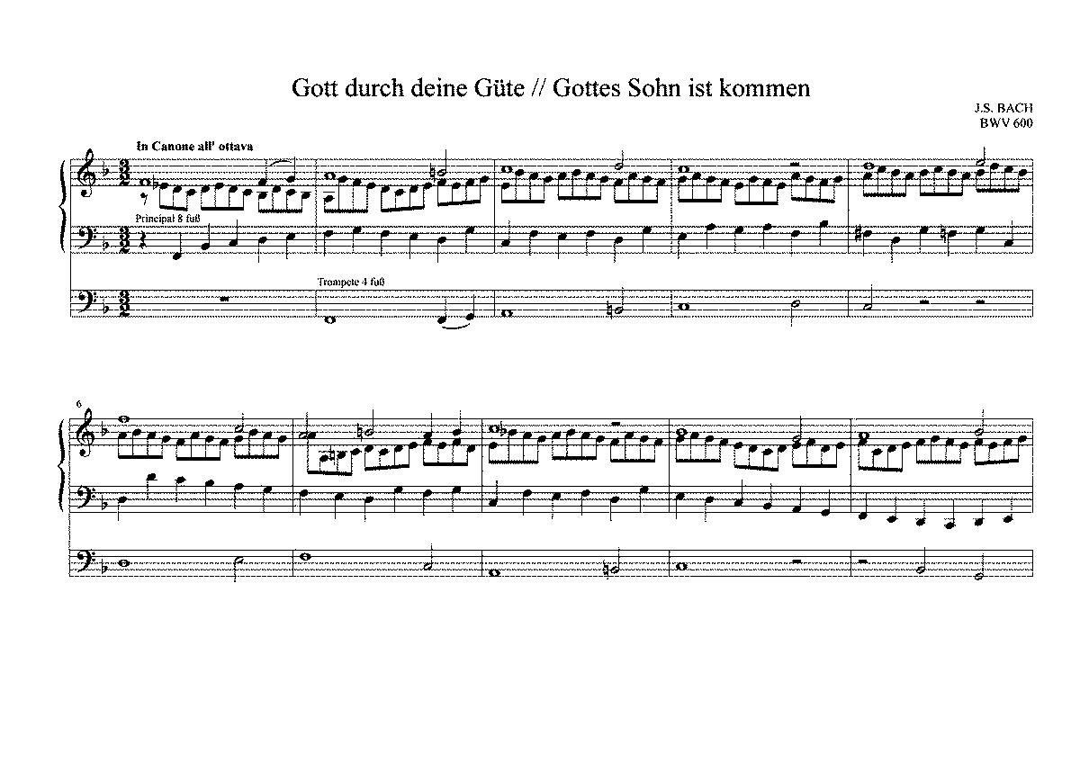 Das Orgel-Büchlein, BWV 599-644 (Bach, Johann Sebastian