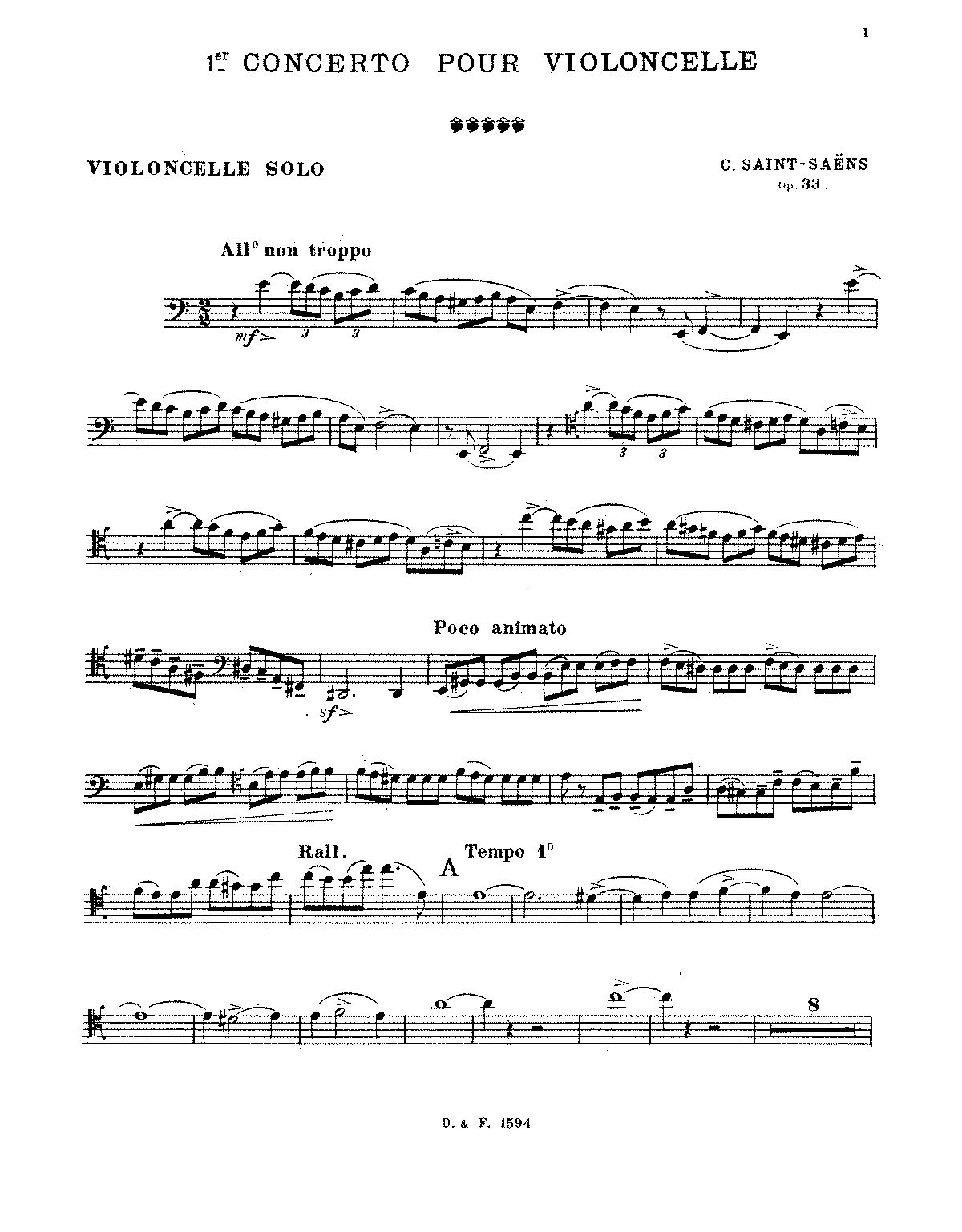 PMLP14642-Saint-Saëns - Cello Concerto No. 1, Op. 33 (trans. cello and piano).pdf