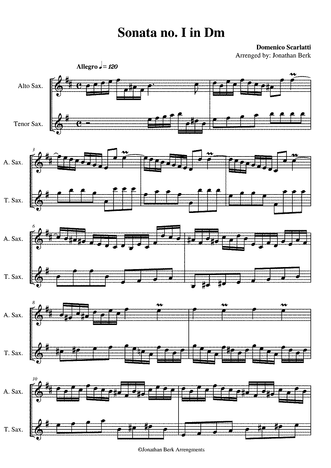 PMLP330125-Domenico Scarlatti - Sonata no. I Dm for Alto & Tenor Sax..pdf