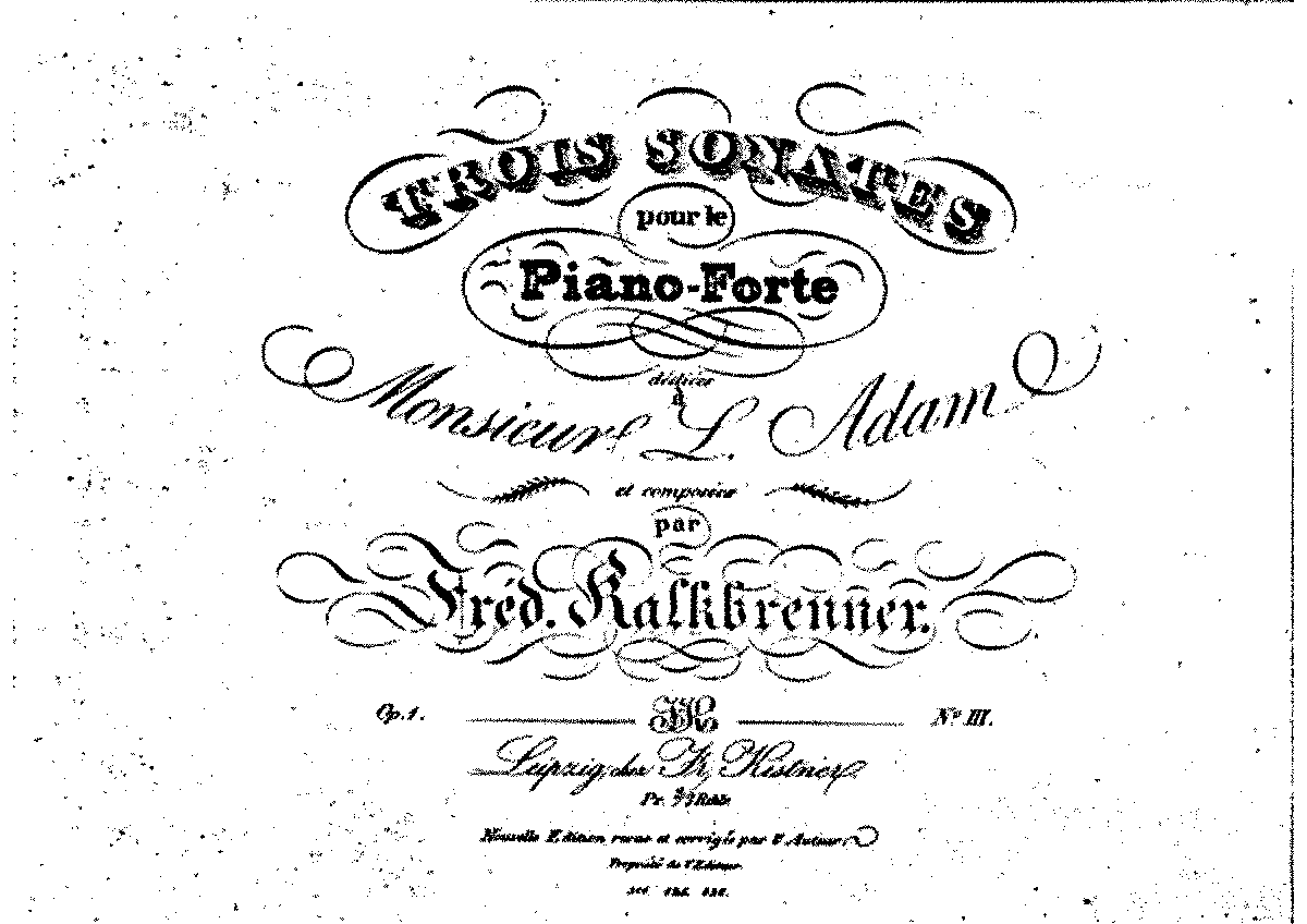 Kalkbrenner - Op.1 No.3 - Piano Sonata No.3 in G Major.pdf